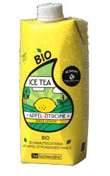 Eistee Apfel-Zitrone von TeeGschwendner im neuen Tetra Pak