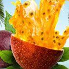 Früchtetee Passionsfrucht Illustration